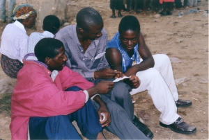 Counselling after an Open Air Meeting